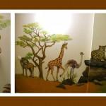 Afrika Wandbildausschnitt