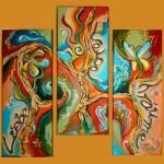 Öl Malerei Wanddeko