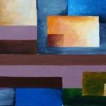 Acryl Malerei Studie