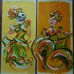 Mexikanische Tänzerinnen