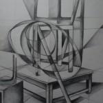 abstraktes Stillleben